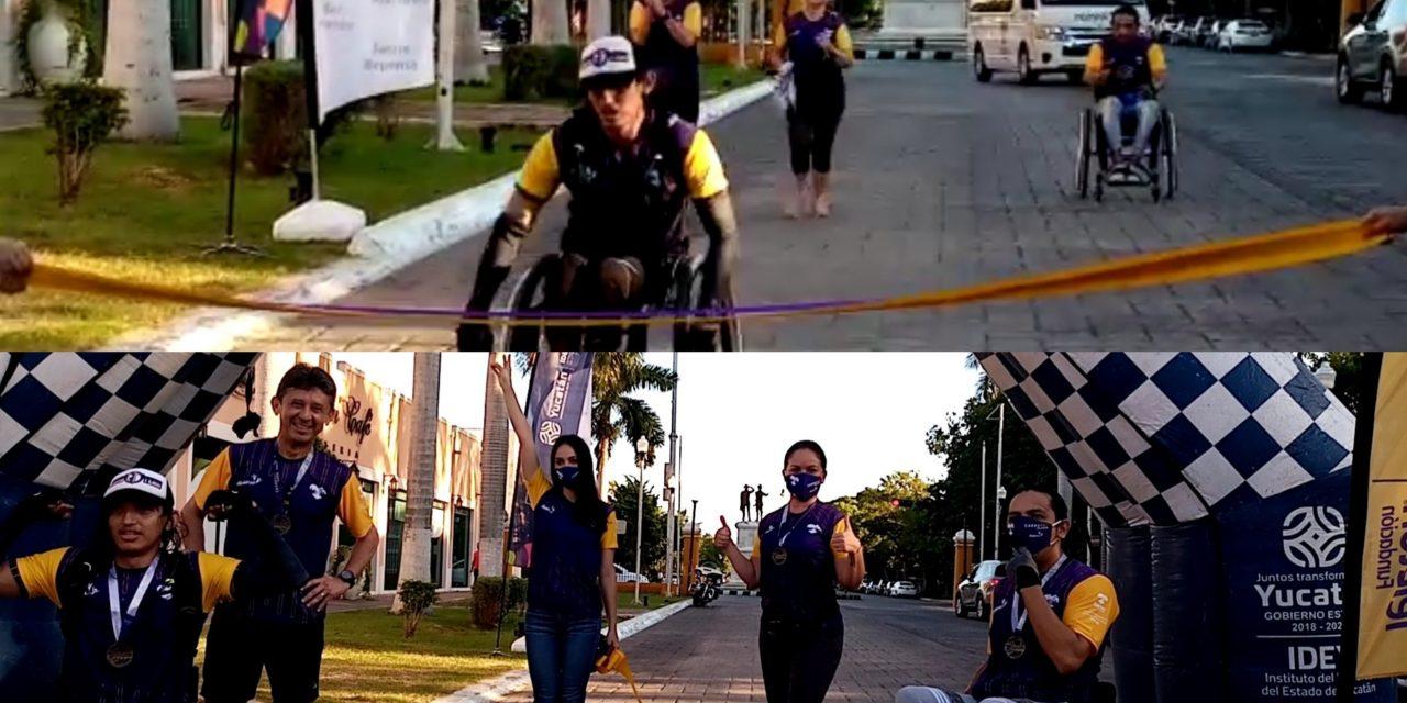 Carrera Virtual Especial: corren por la niñez yucateca con discapacidad