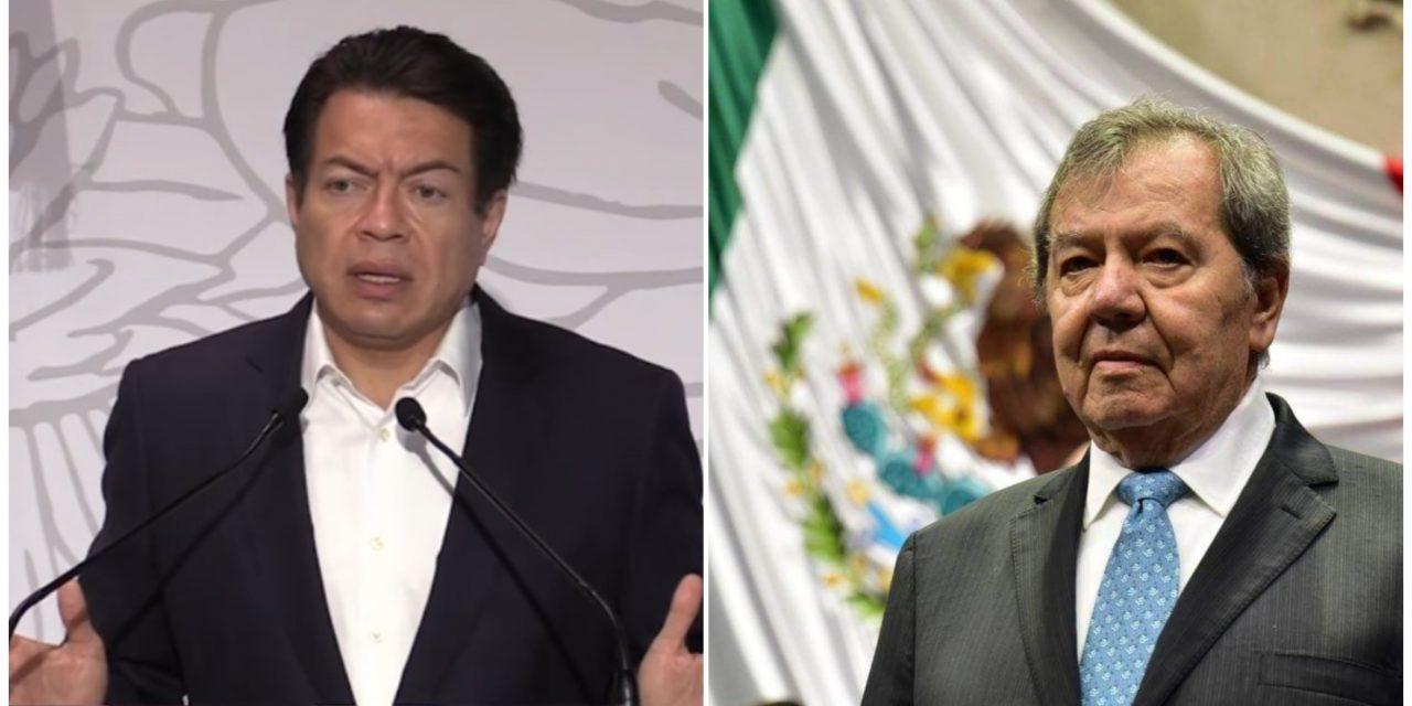 Mario Delgado supera a Muñoz Ledo por la dirigencia de Morena