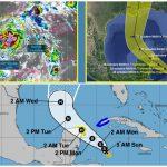 """Tormenta Tropical """"Zeta"""" desvía trayectoria hacia norte de Quintana Roo"""
