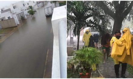 Lluvias por frente frío en Mérida y municipios: anegamientos y temor