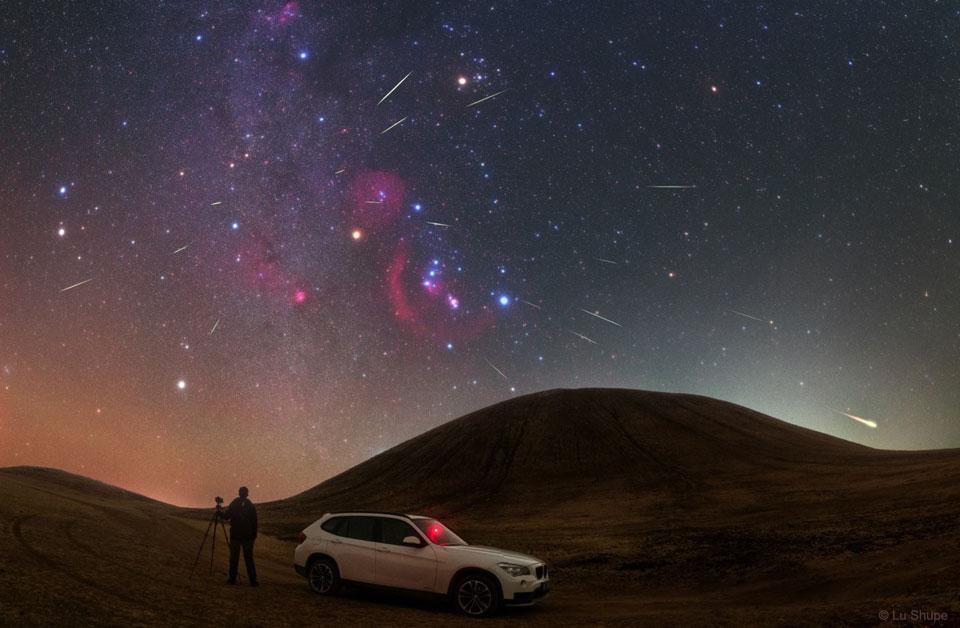 """Yucatán: cenizas del cometa Halley """"se encenderán"""" en el cielo esta semana"""
