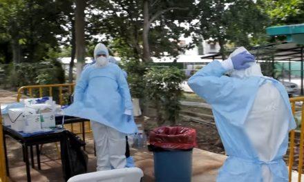 Caen hospitalizaciones y defunciones; suben nuevos contagiados