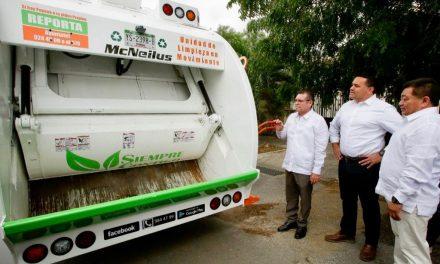 Ajustan recolección de basura en Mérida: amplían concesiones y redistribuyen zonas