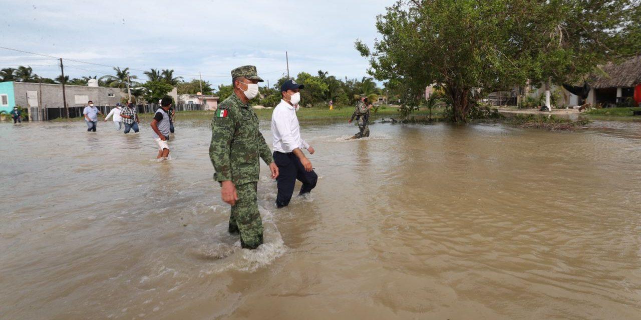 Solicita Yucatán Declaratoria de Emergencia para 19 de sus municipios