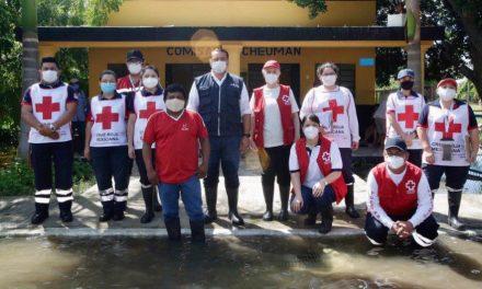 Abren en Mérida centros de acopio para ayudar a familias afectadas por lluvias