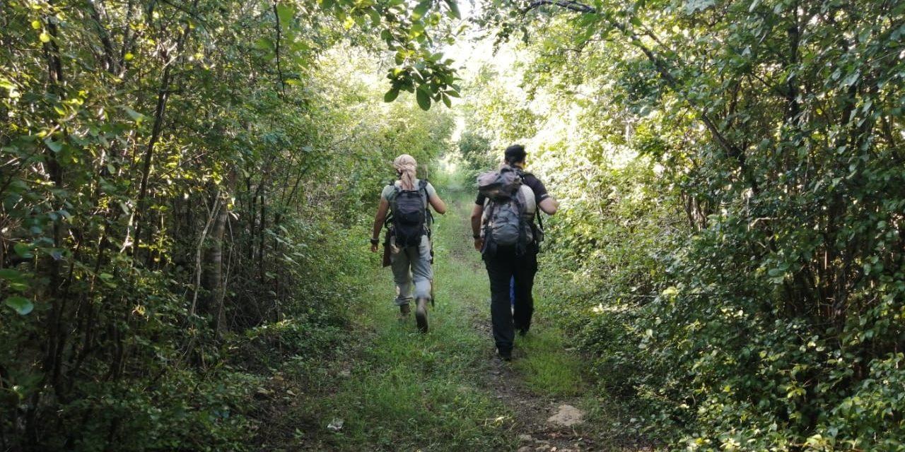 Caminarán 100 kilómetros por haciendas, cenotes, vestigios arqueológicos y pueblos mayas