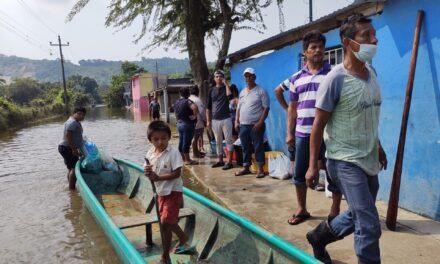 Inundaciones y alto riesgo de enfermedades tropicales en sur-sureste