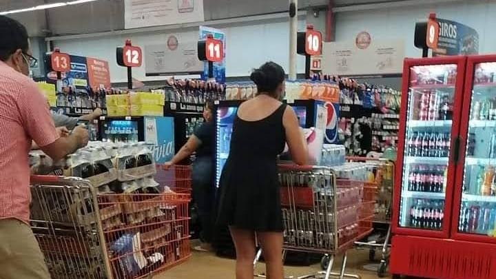 Cómo evitar contagios en supermercados, tianguis y tiendas