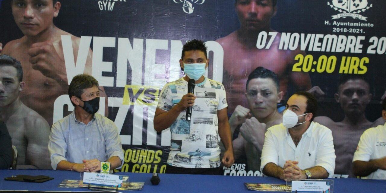 A los puños este fin de semana en Kanasín con velada boxística