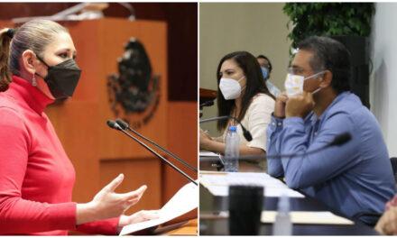 'Portazo' en la nariz en Morena a perredistas y senadora de PVEM