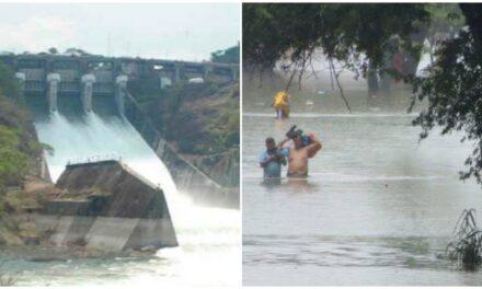 Tabasco inundado, con lluvias y más descargas de la presa Peñitas