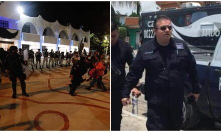 Separan a Capella Ibarra de SSP-Quintana Roo, por indagatoria de represión