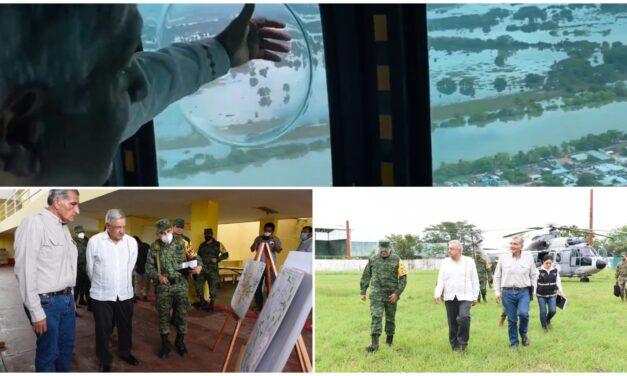 """Se preparan en Tabasco para """"resistir"""" por más lluvias"""
