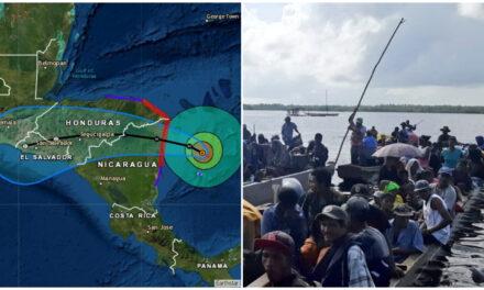 """En ruta hacia Nicaragua, huracán """"Iota"""" hace historia en noviembre"""