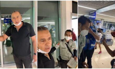 Capturan a empresario Carlos Mimenza Novelo en Aeropuerto de Mérida