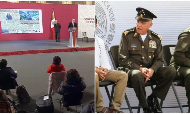 """'No amenazamos a nadie': AMLO; """"casi suicida no hacer nada"""": Ebrard"""