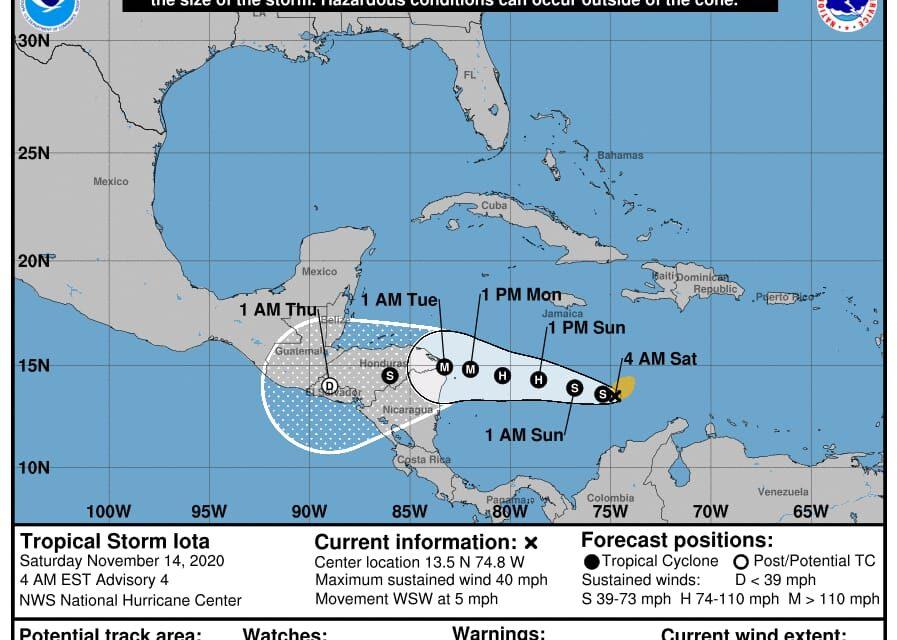 'Vivimos tiempos inéditos'… Yucatán, indefenso ante 'Iota': experto