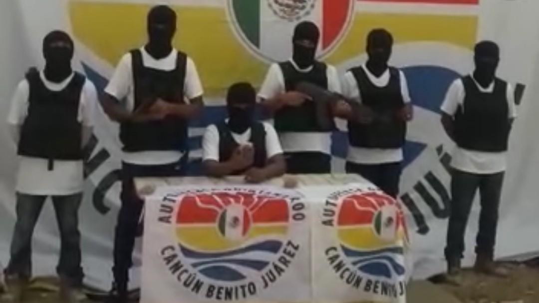 """""""Autodefensas Quintana Roo"""", reacción ante crimen organizado"""