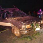 Conduce ebrio y vuelca camioneta con 11 albañiles de Kiní, Motul