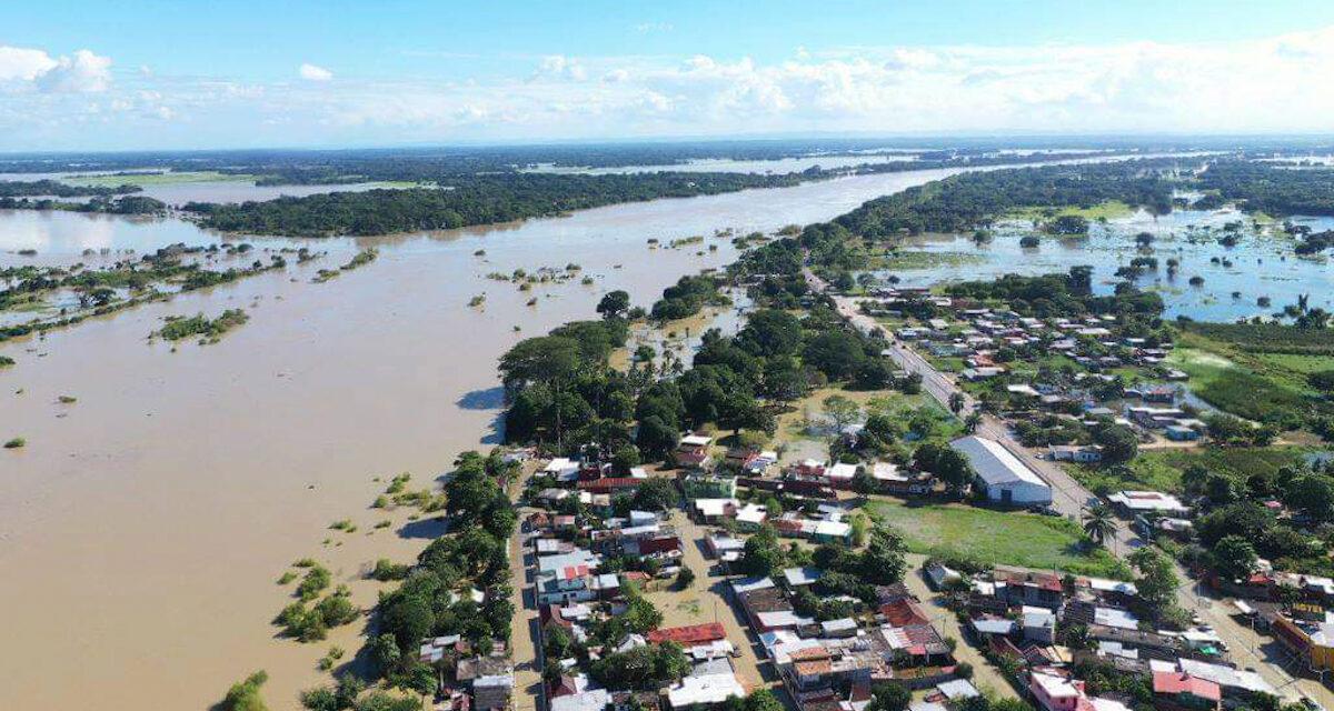 La creciente del Usumacinta desnuda la degradación ambiental