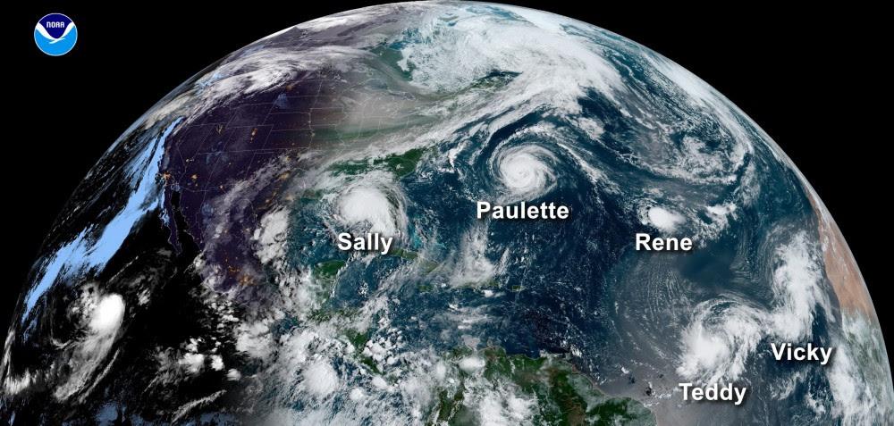 Termina la temporada de huracanes: cada 6 días se formó un ciclón; 8 afectaron Yucatán