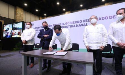Firma italiana con proyecto en industria naval en puerto Progreso