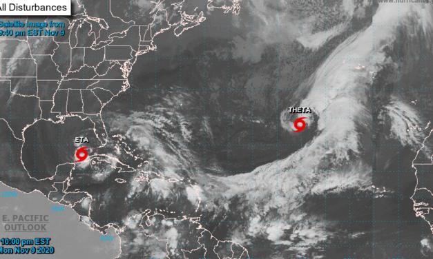 """""""Theta"""" impone marca histórica de ciclones del Atlántico"""
