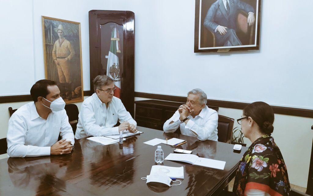 El presidente López Obrador conversó con Joe Biden, desde Valladolid