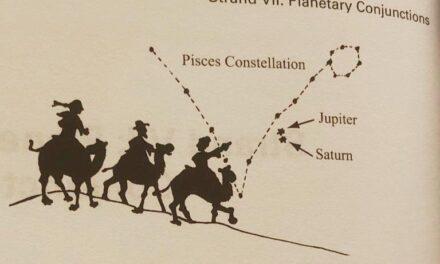 Hoy se alinean Júpiter y Saturno, pero que no te engañen: no es la Estrella de Belén