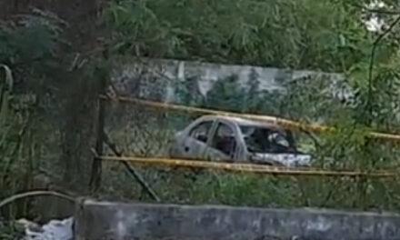 Aparece quemado auto de uno de los dos asesinados en San Damián