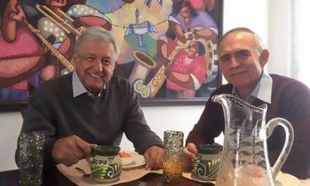 'Ya no hace falta esa oficina'.- López Obrador, tras salida de Romo