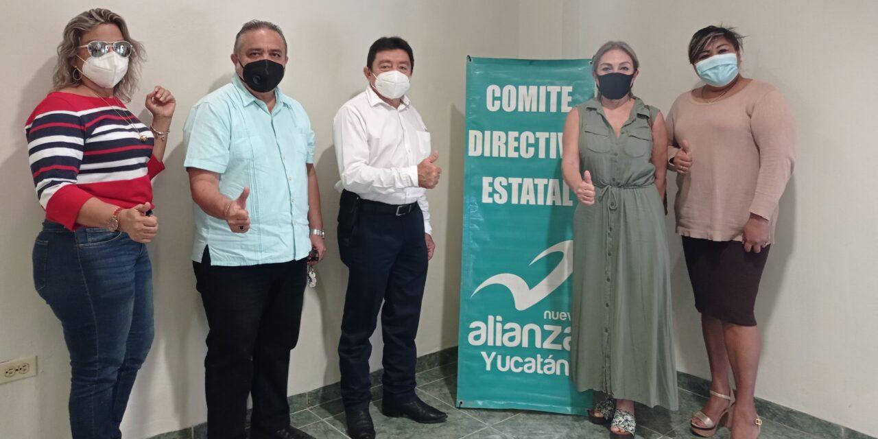 Nueva Alianza busca acercamiento con PAN en Yucatán y otros partidos