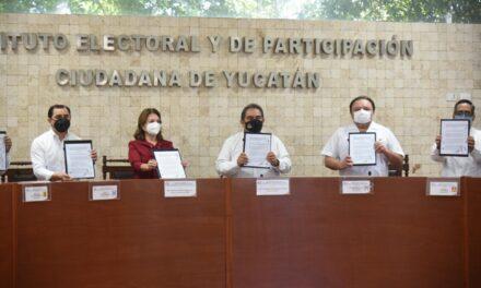 Convenio garantiza gobierno de mujeres en 5 municipios de Yucatán