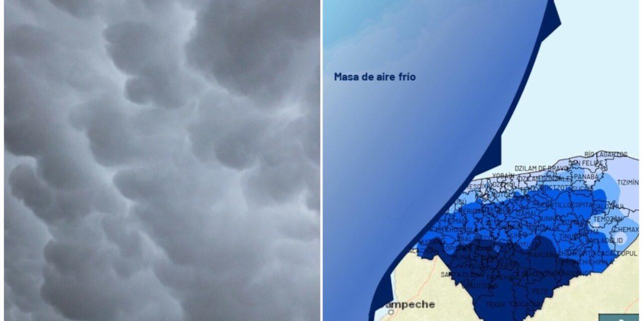 Otro frente frío llegará a Yucatán el próximo sábado