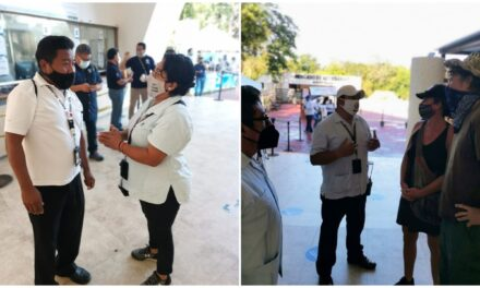 En Chichén Itzá, entraron gratis 300 turistas por paro temporal