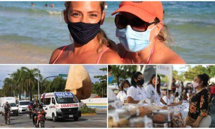 Obligatorio en Quintana Roo utilizar cubrebocas; limitan reuniones