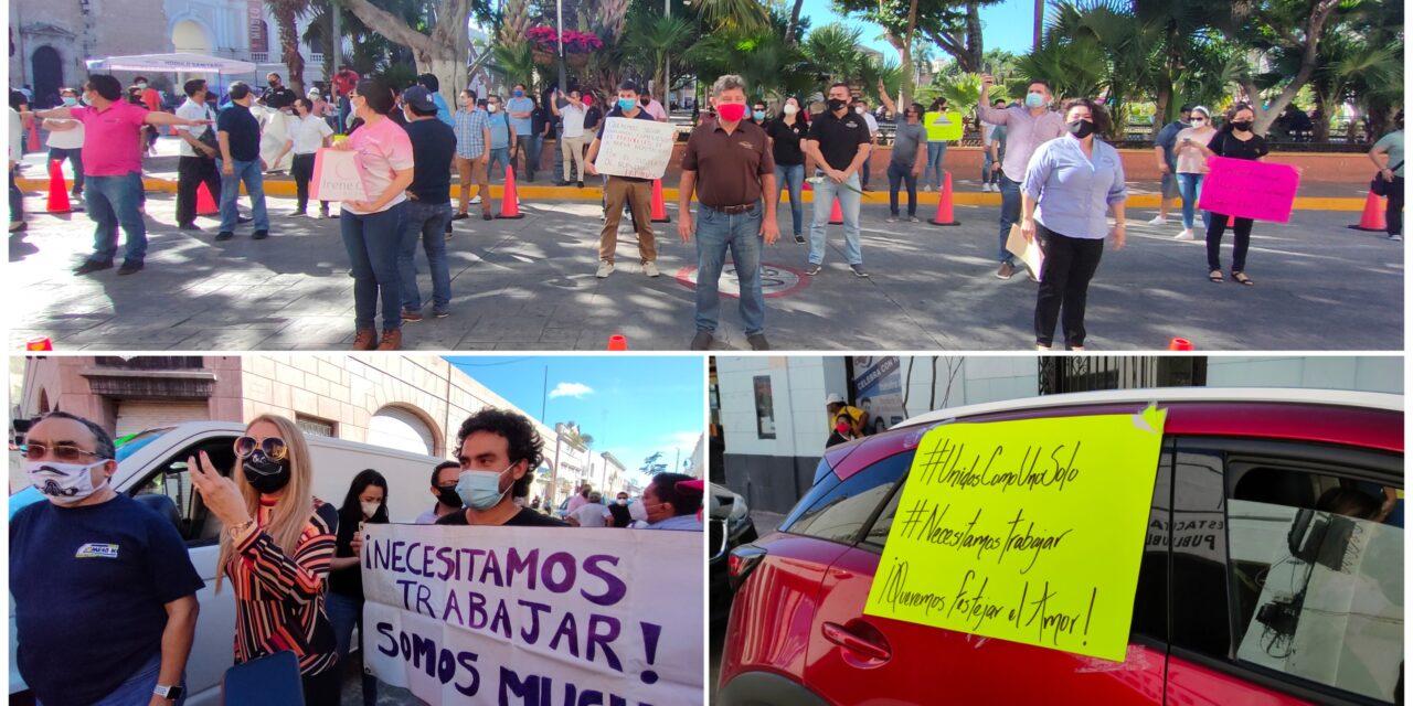 'Industria del romance' al borde de jaque; demandan reapertura en Yucatán