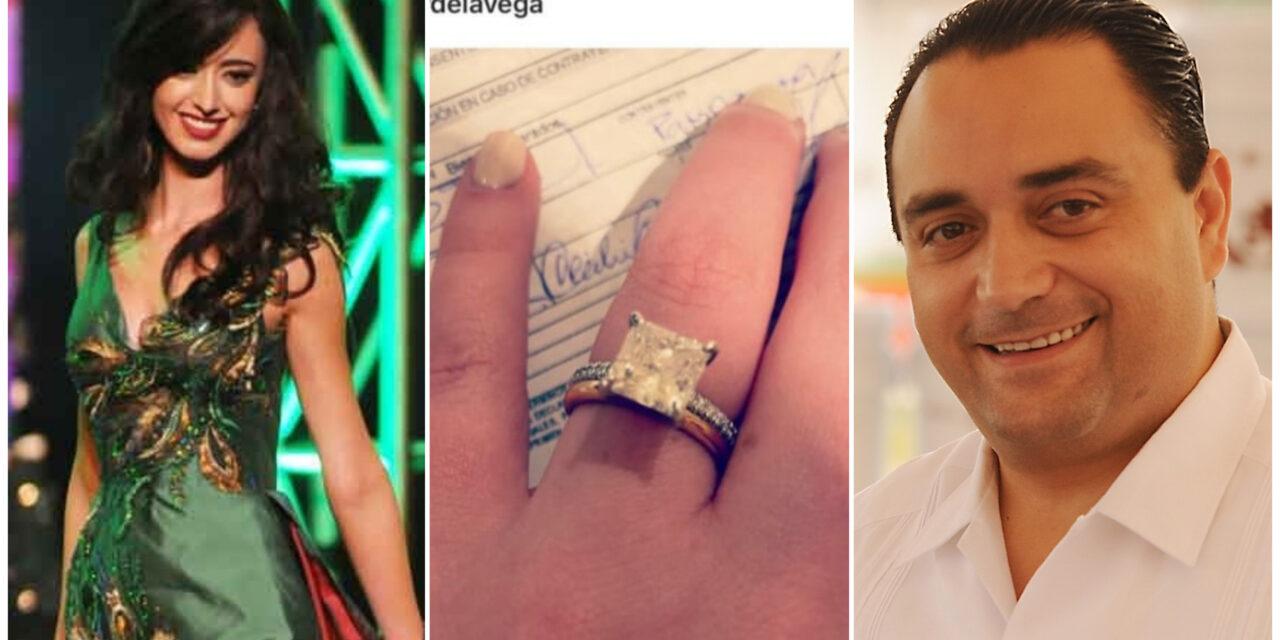Boda en penal: Roberto Borge Angulo se casó con Nuestra Belleza Sinaloa 2015