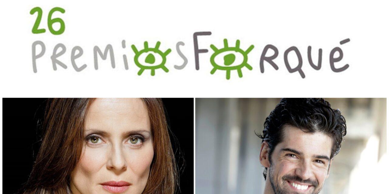 Aitana Sánchez-Gijón y Miguel Ángel Muñoz conducirán 26ª edición de los Forqué