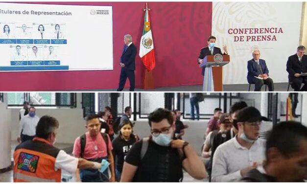 Médicos y enfermeras del IMSS entran de refuerzo en centro del país