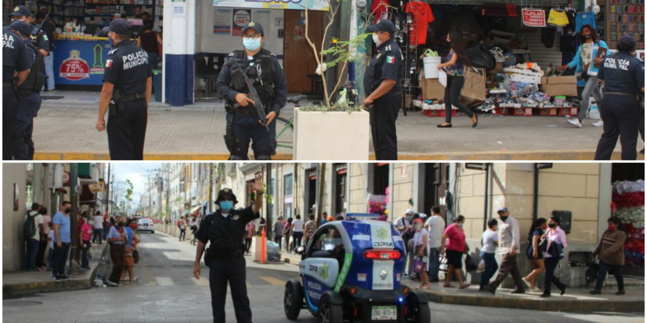 Nochebuena en Centro Histórico de Mérida, sin incidentes relevantes