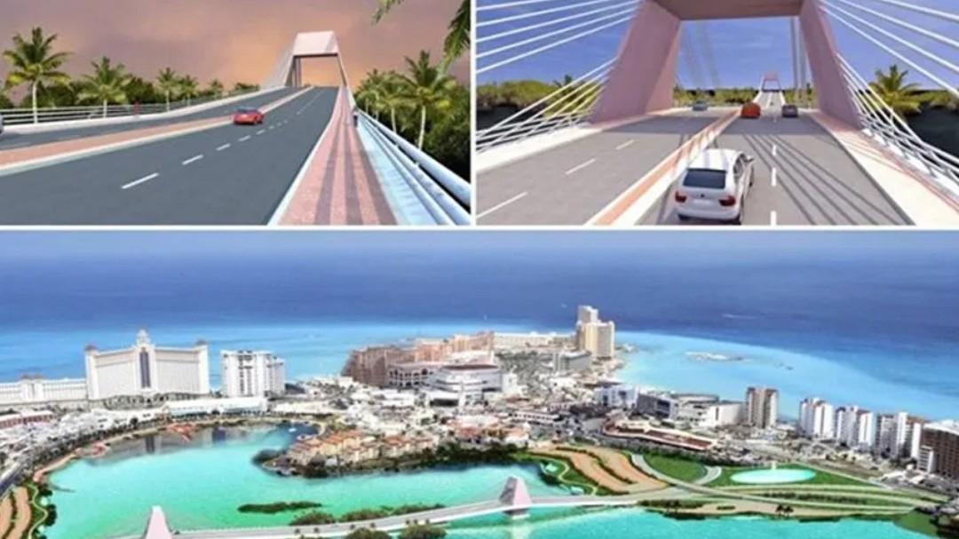 Puente Vehicular Nichpté, en Cancún, para 'desfogue' de zona hotelera