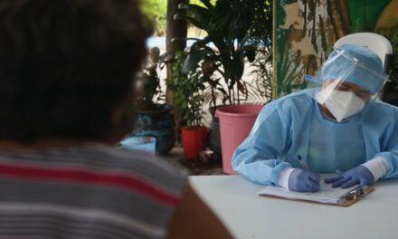 Marcado descenso de contagios, con repunte de hospitalizaciones