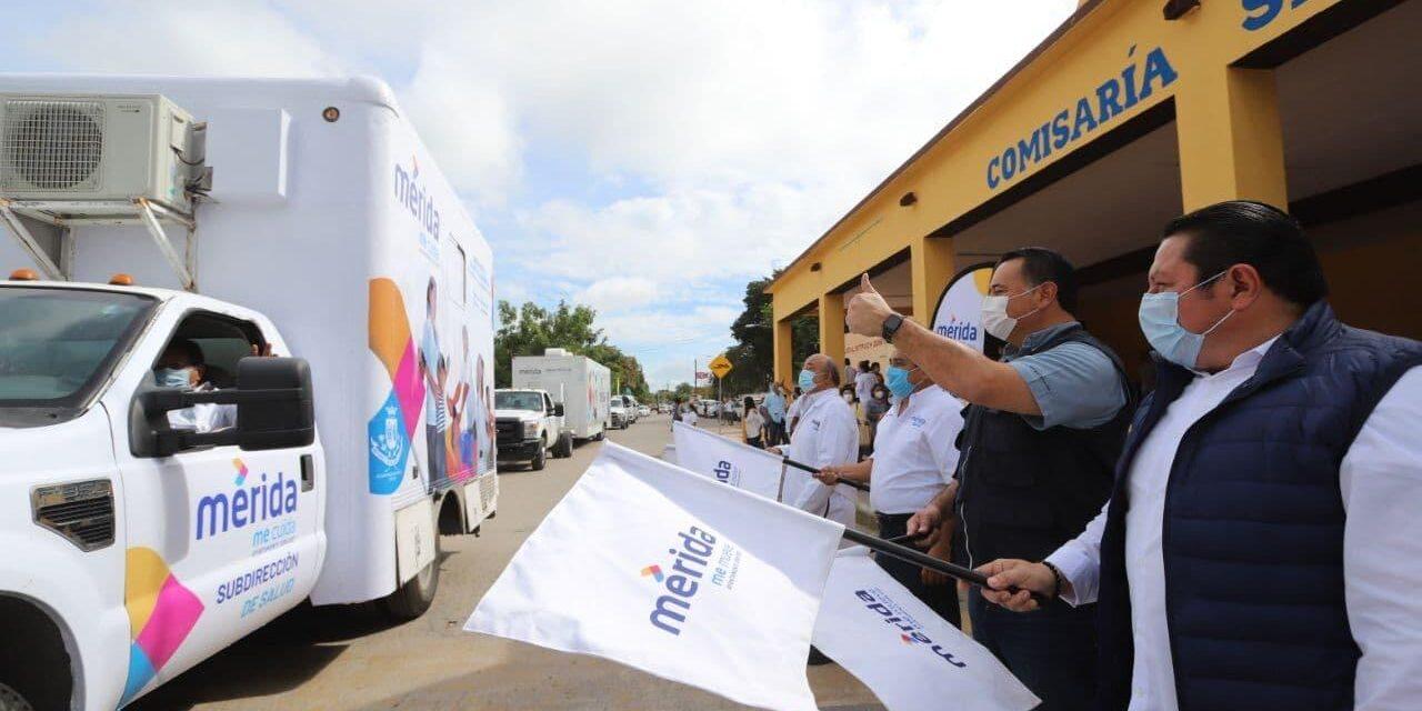 Caravana de la Salud, para población vulnerable de Mérida