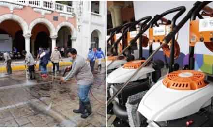 Equipo industrial para limpieza y desinfección sitios públicos en Mérida