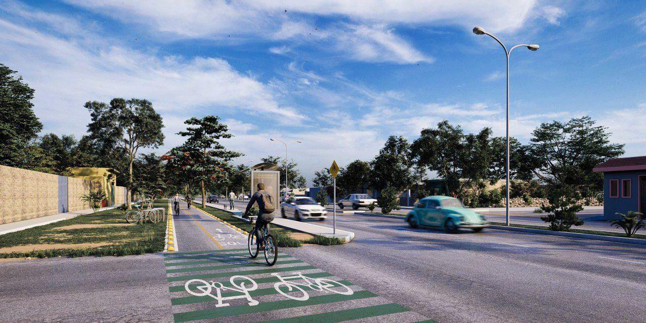 Activada primera etapa del Plan de Infraestructura de Ciclovías para Mérida