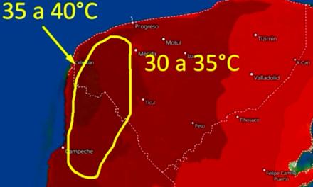 Adiós, 'heladez'; bienvenido, 'invierno yucateco': llega calor de hasta 40°