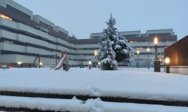 Mantiene borrasca Filomena a España en vilo con fuertes nevadas
