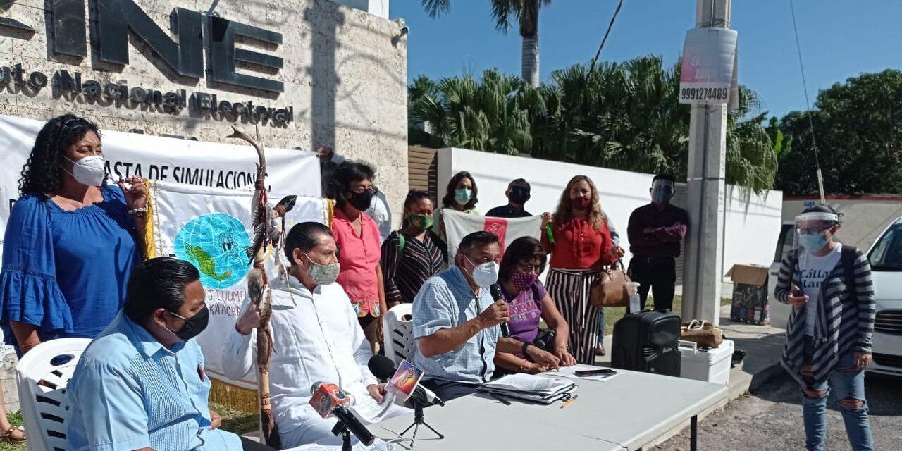 Incumplen en Yucatán asignación de candidaturas a indígenas