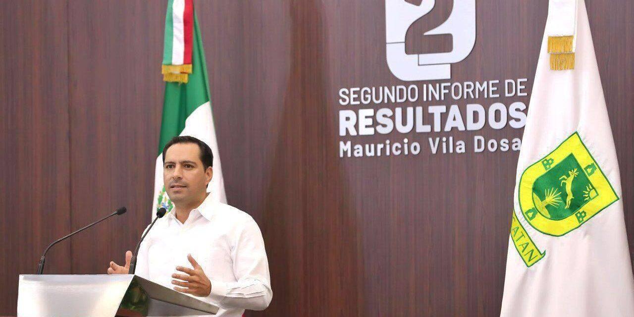 Unidos para seguir cambiando a Yucatán.- Vila Dosal